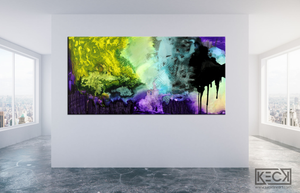 Load image into Gallery viewer, COLORFUL ABSTRACT ART BY MICHEL KECK