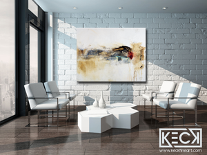 BIG ART PRINTS: Huge selection of upscale, overiszed, abstract art prints by Michel Keck