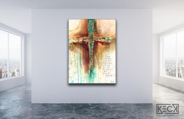CROSS ART PRINTS by Michel Keck