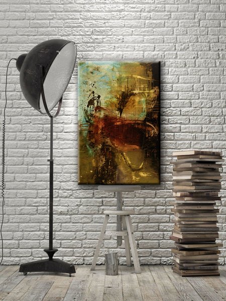 #050745 <br> Peace of Mind <br> Canvas Art Print