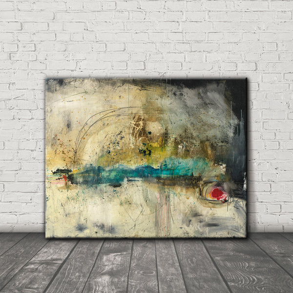 #050802 <br> Breaking Point <br> Canvas Art Print