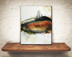 #050810 <br> Rude Awakening <br> Canvas Art Print