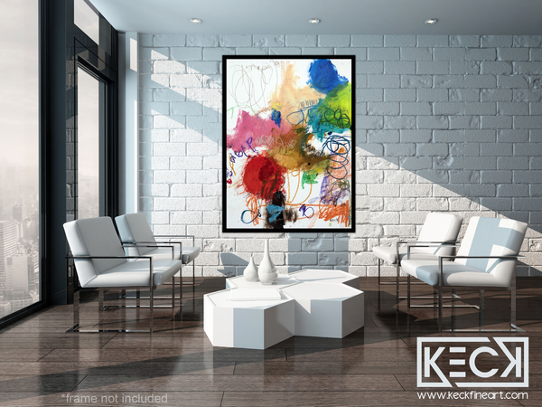 #051228 <br> Our Worlds are Meant to Collide <br> Canvas Art Print