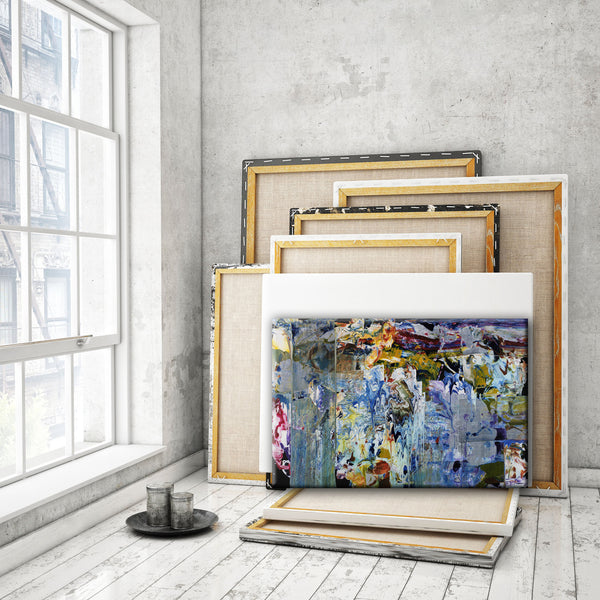 ABSTRACT ART Canvas Print of Wish List VI