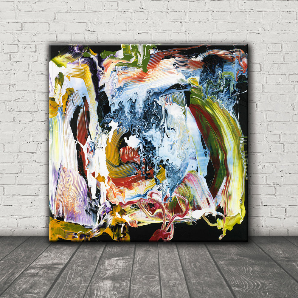 ABSTRACT ART Canvas Print of Wish List X