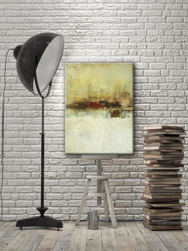 ABSTRACT ART Canvas Print of Validation