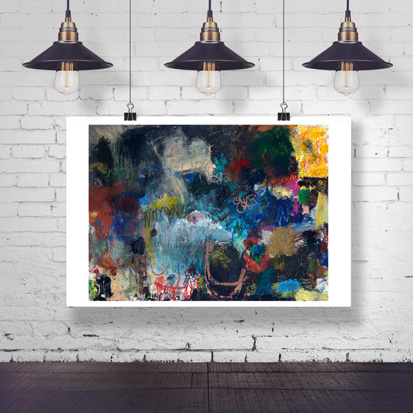 #061204 <br> I Know the Feeling <br> Canvas Art Print