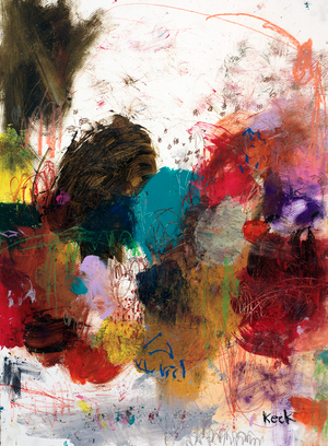 Load image into Gallery viewer, Bold, Colorful, Expressive Abstract Art Paintings on Paper