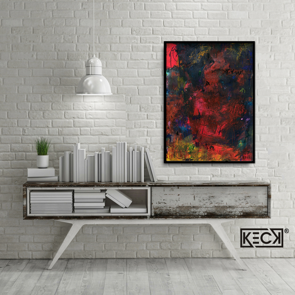 Original Abstract Art by Michel Keck