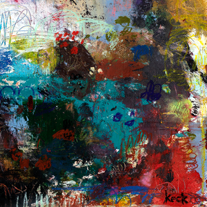 Beautiful Original Abstract Art Paintings by Michel Keck