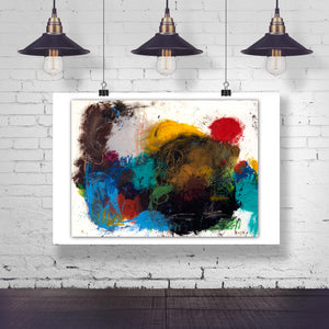 #061229 <br> Stop Trying To Make Me Laugh..I'm Still a Little Mad at You <br> Canvas Art Print