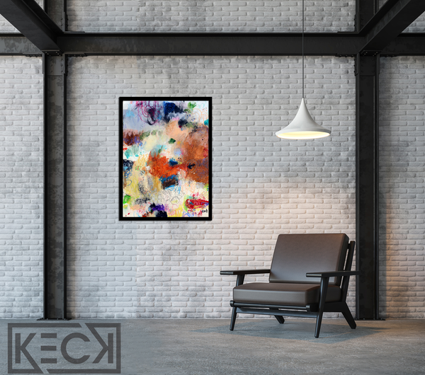 ORIGINAL ABSTRACT PAINTINGS. Original abstract art paintings on canvas and paper.