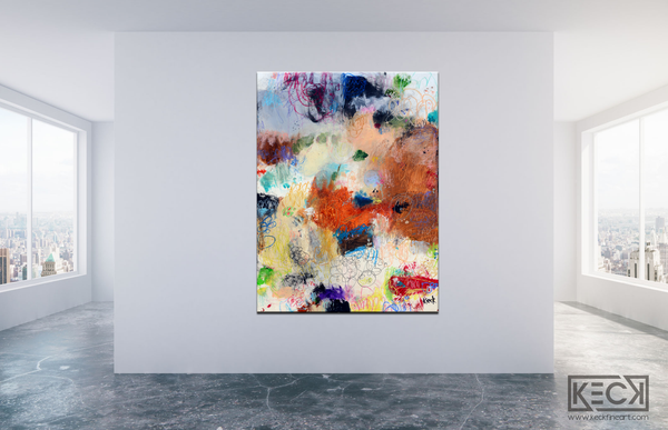 #061235<br>  Twist of Fate <br> Canvas Art Print