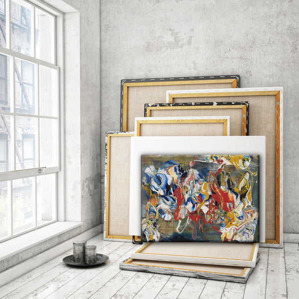 ABSTRACT ART Canvas Print of Wish List XXXI