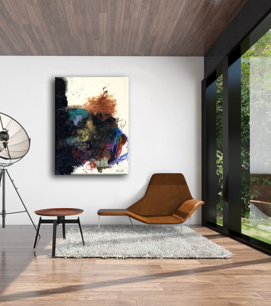 #071217 <br> A Lesson in Falling Down <br> Canvas Art Print