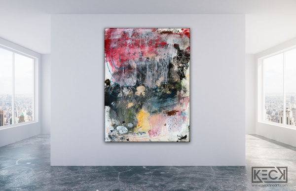 ABSTRACT CANVAS ART PRINTS BY MICHEL KECK