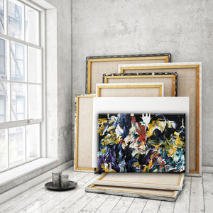ABSTRACT ART Canvas Print of Wish List XX