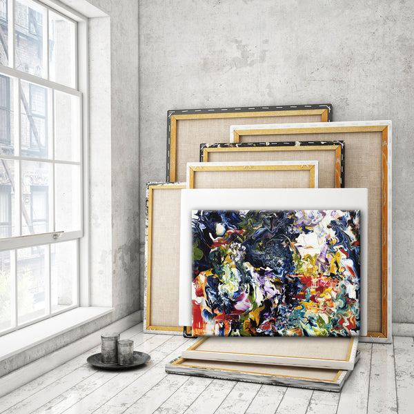 ABSTRACT ART Canvas Print of Wish List XXI