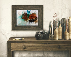Load image into Gallery viewer, ABSTRACT ART Paper Print of Matthew 7