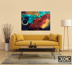 RELIGIOUS CANVAS ART PRINTS BY MICHEL KECK