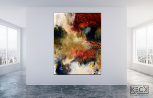 #091308<br>  A Stroke of Luck <br> Canvas Art Print