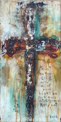 CROSS ART Canvas Print of Cross #091601