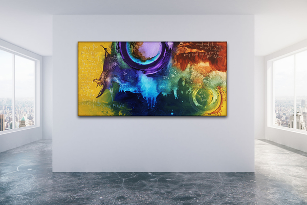 LARGE ABSTRACT CANVAS ART PRINTS