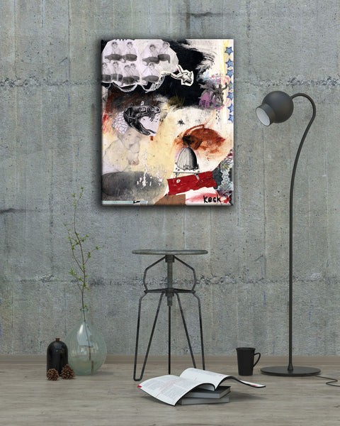 #101202 <br> Defense Mechanism <br> Canvas Art Print