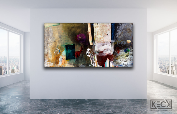 #101207 <br> Accident Or Grand Design <br> Canvas Art Print