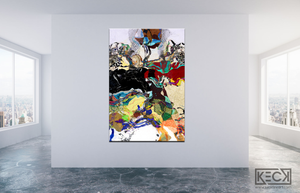 #101712<br>Down The Rabbit Hole Series<br> Curiouser and Curiouser<br> Canvas Art Print