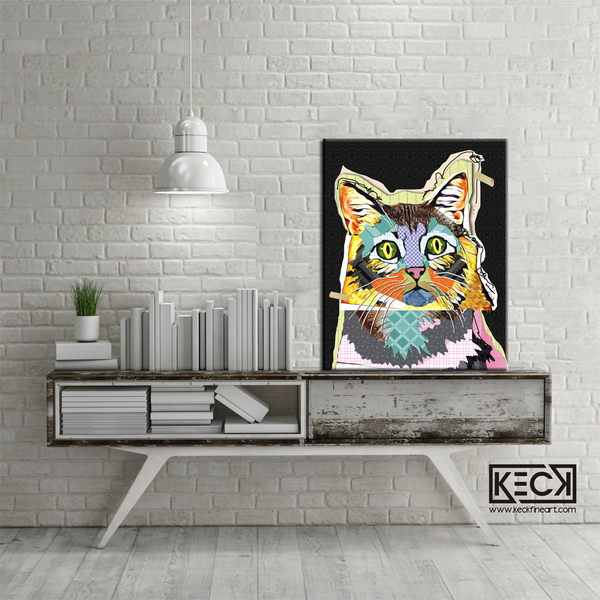 Cat III <br> Canvas Art Print