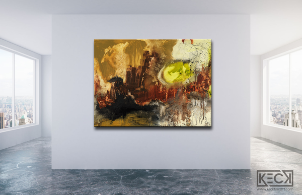 LARGE SCALE, OVERSIZED, ABSTRACT ART CANVAS PRINTS.  Huge selection of oversized abstract art prints for home or corporate design