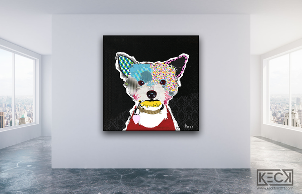 #111502 <br> Yorkshire Terrier III <br> Canvas Print