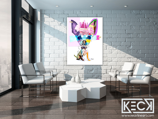 Chihuahua Dog Art Prints