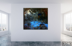 #111901<br> Revelation 21:4 <br>Original Scripture Painting