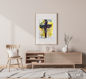 CROSS ART GALLERY: Vibrant, religious cross art paintings - crucifix art