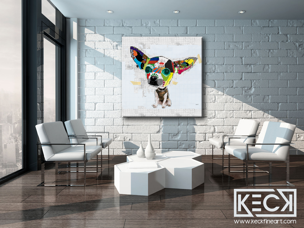 Load image into Gallery viewer, DOG ART PRINTS BY MICHEL KECK