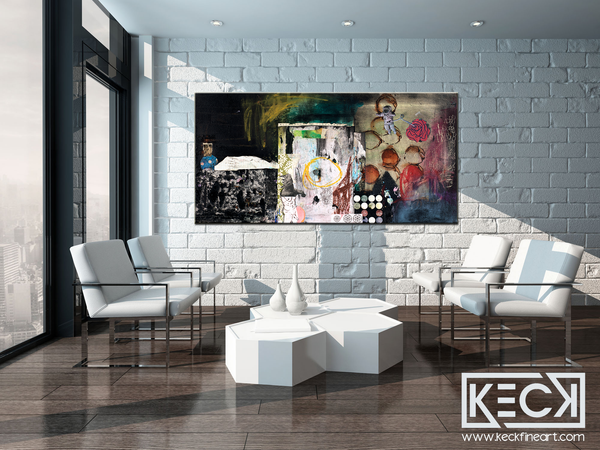 COLLAGE ART PRINTS GALLERY: Wholesale & Retail Collage Art Canvas Prints.  Collage Art Prints