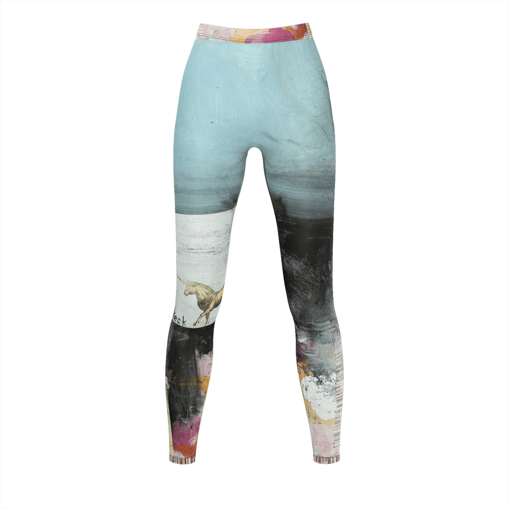Michel Keck® Art Leggings - Someday