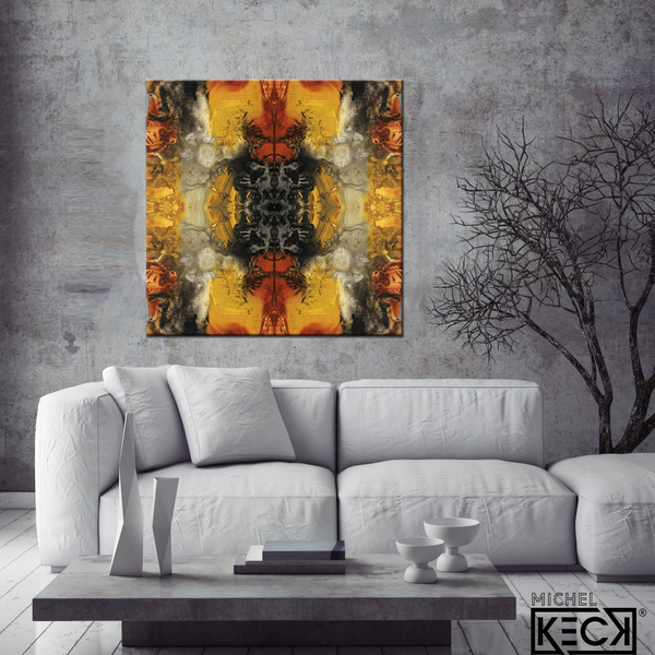 #DCRS1-39 <br> Echo Collection 39 <br> Canvas Art Print