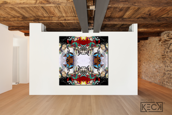 #DCRS1-43 <br> Echo Collection 43 <br> Canvas Art Print