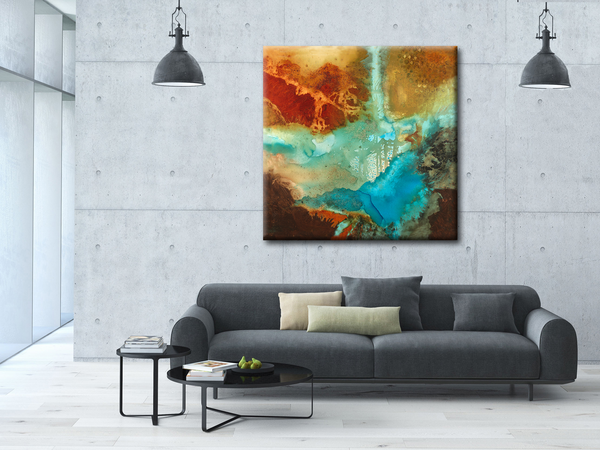 OVERSIZED ABSTRACT ART PRINTS