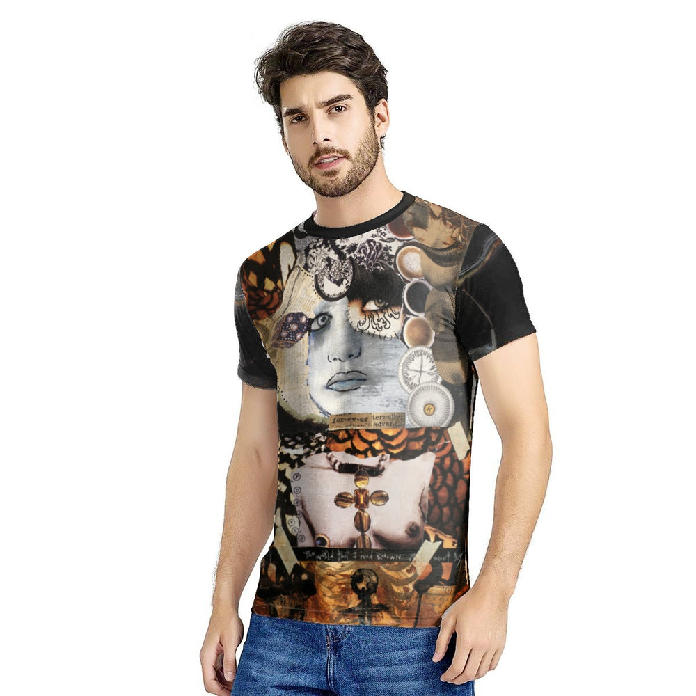 Men's All Over Graphic Tees - FOREVER