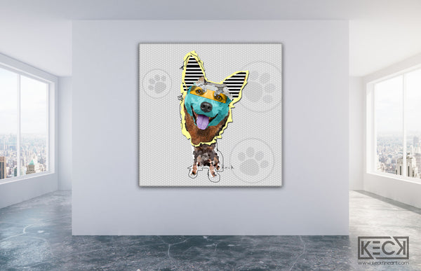 Australian Cattle Dog Art
