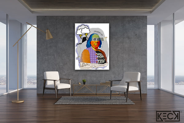 Benjamin Franklin Pop Art