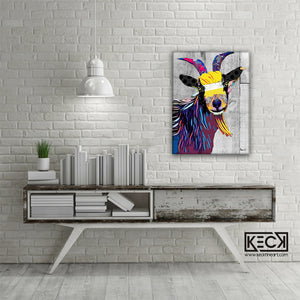 Load image into Gallery viewer, billy goat art print