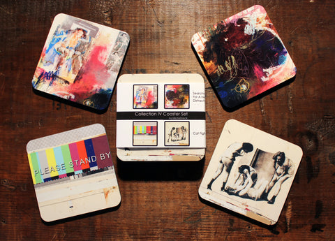 Art Coasters: Mixed Media Art Coaster Collection IV