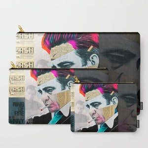 Johnny Cash Carry-All Pouches