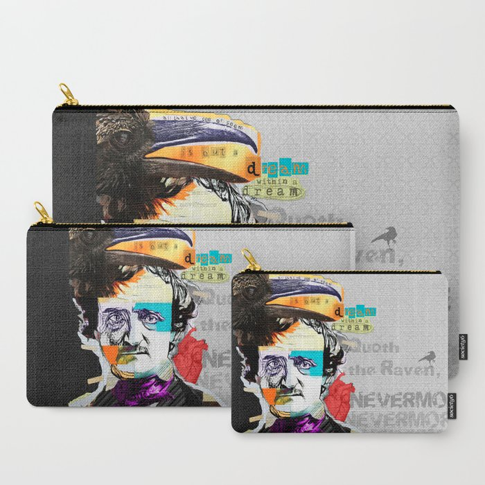 Edgar Allan Poe Carry-All Pouches