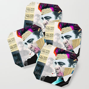 Load image into Gallery viewer, Johnny Cash Coasters